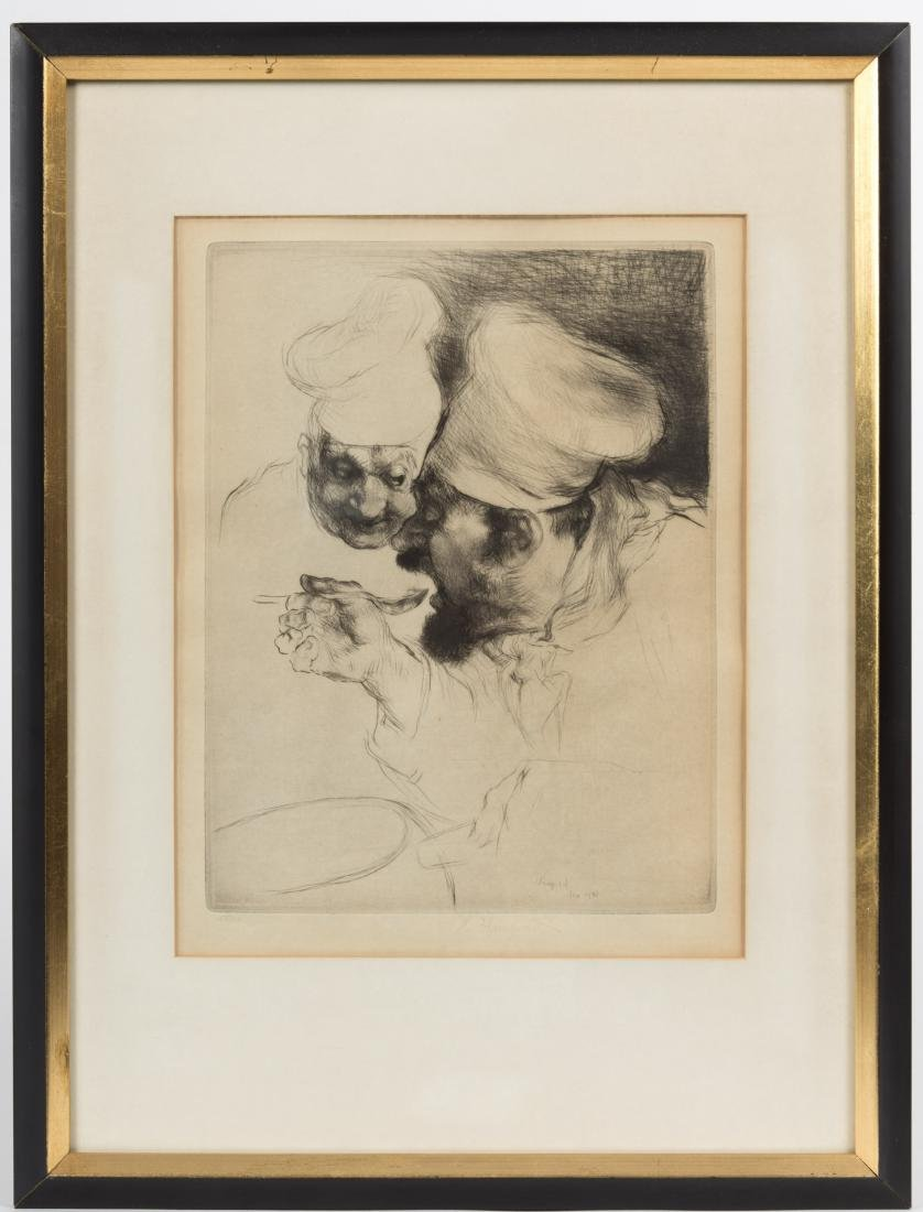 Edmund Blampied - Signed Etching