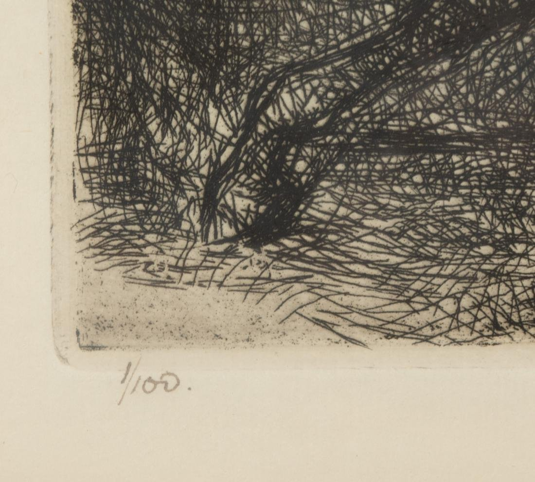 Edmund Blampied - Signed Etching - 4