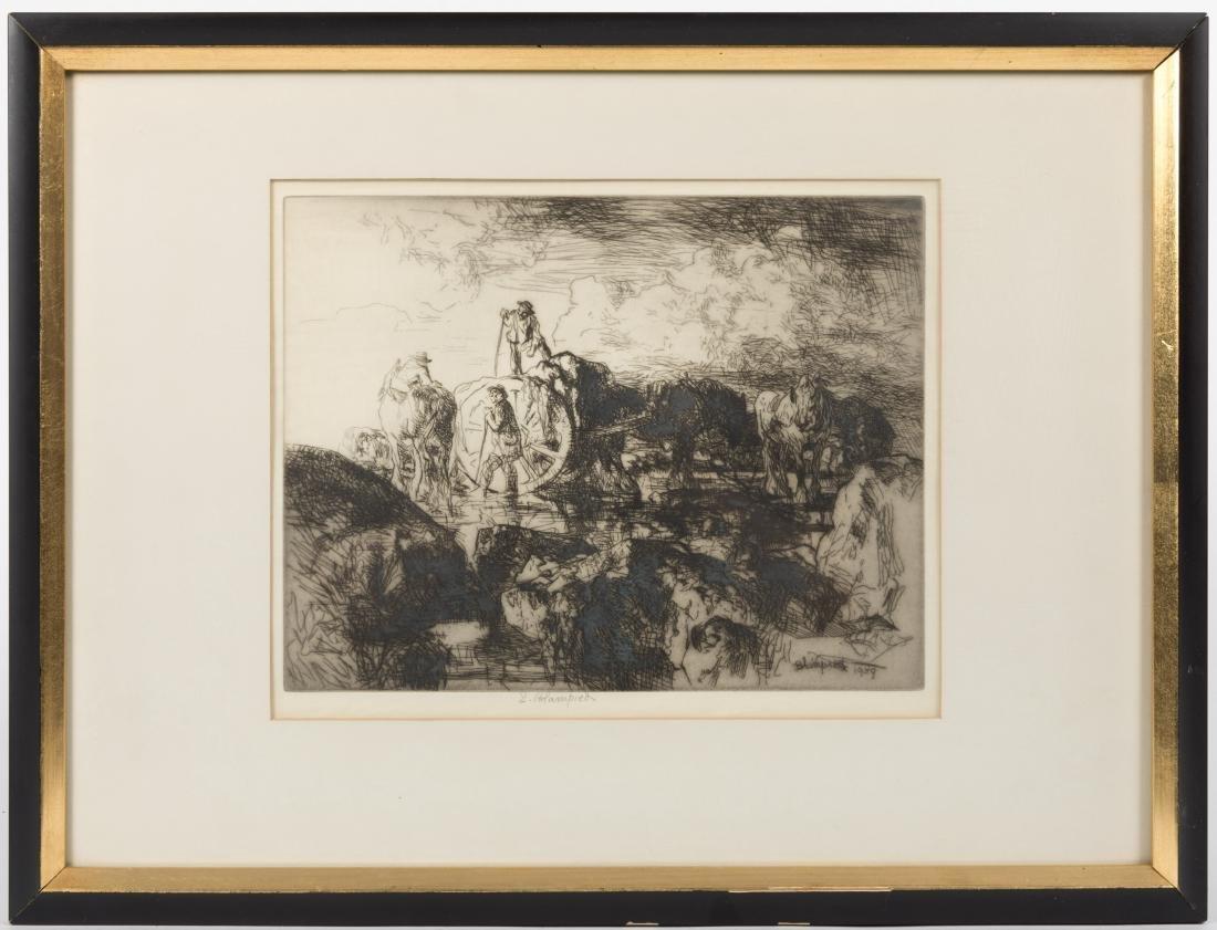 Edmund Blampied - Signed Etching