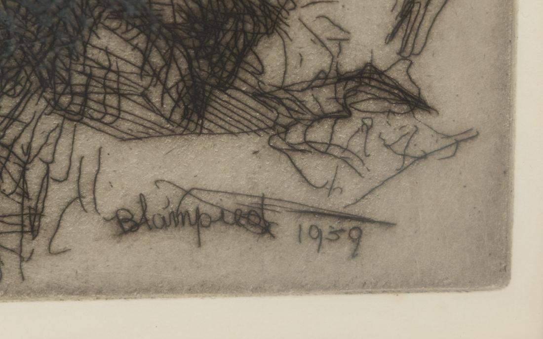 Edmund Blampied - Signed Etching - 5