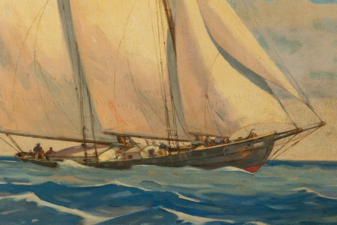 Large Oil on Canvas - Bennett - 2