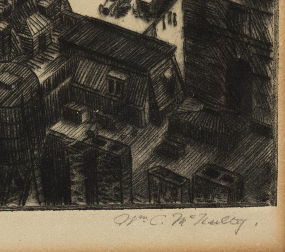 William C. McNulty - Signed Etching - 3