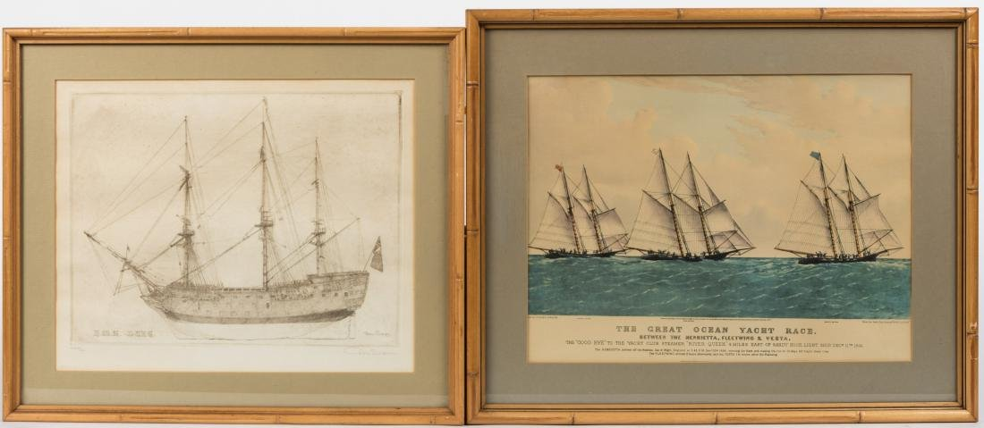 Don Swann - Etching and Nautical Lithograph
