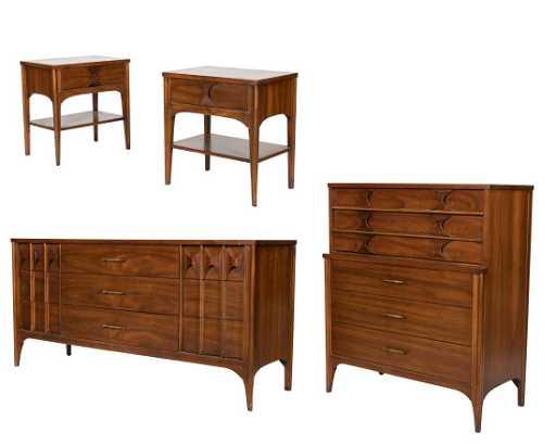 Kent Coffey Perspecta Bedroom Set - Kent coffey bedroom furniture