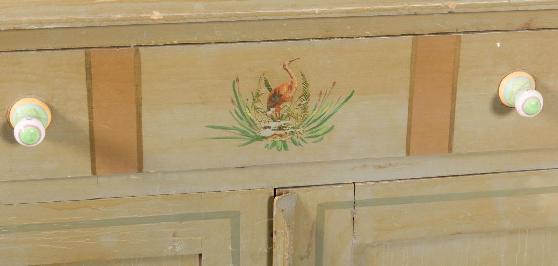 Victorian Cottage Dresser, Mirror and Washstand - 3