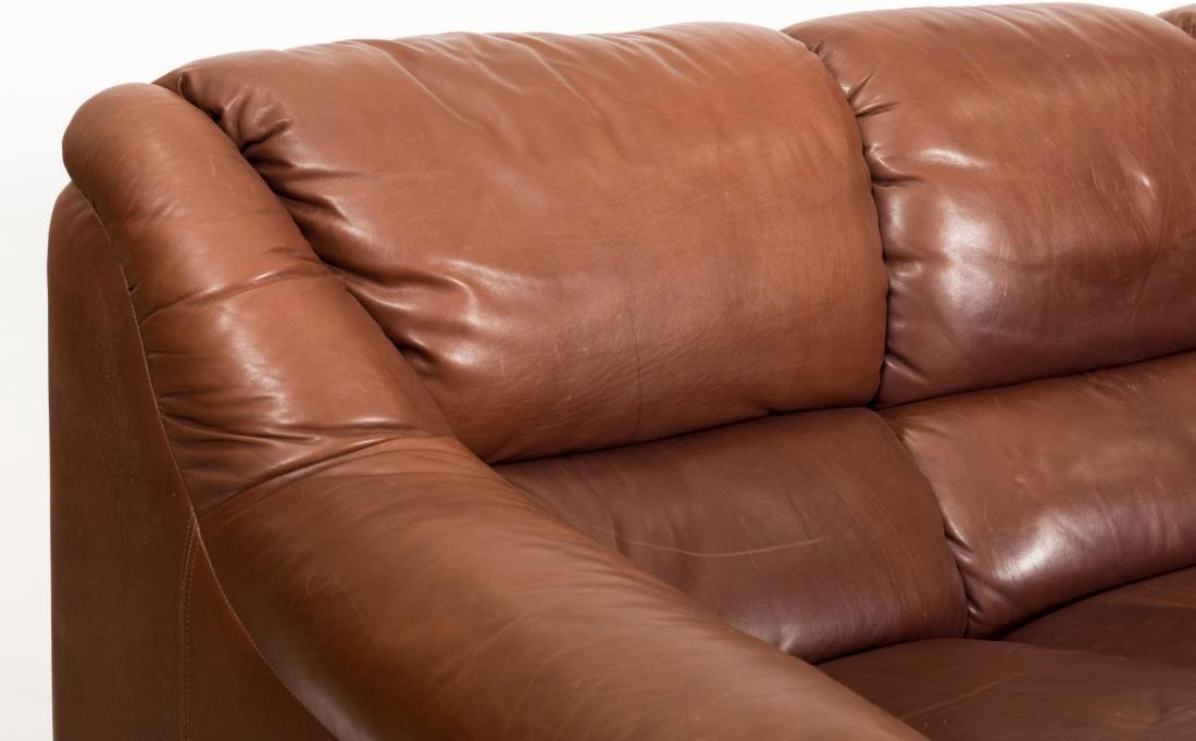 Roche Bobois Leather Sofa - 2