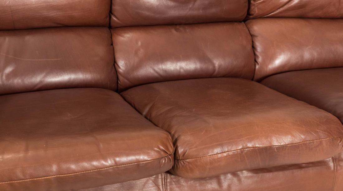 Roche Bobois Leather Sofa - 3