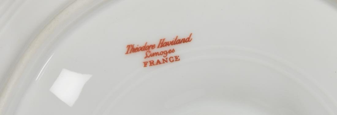 Six Theodore Haviland Limoge Oyster Plates - 3