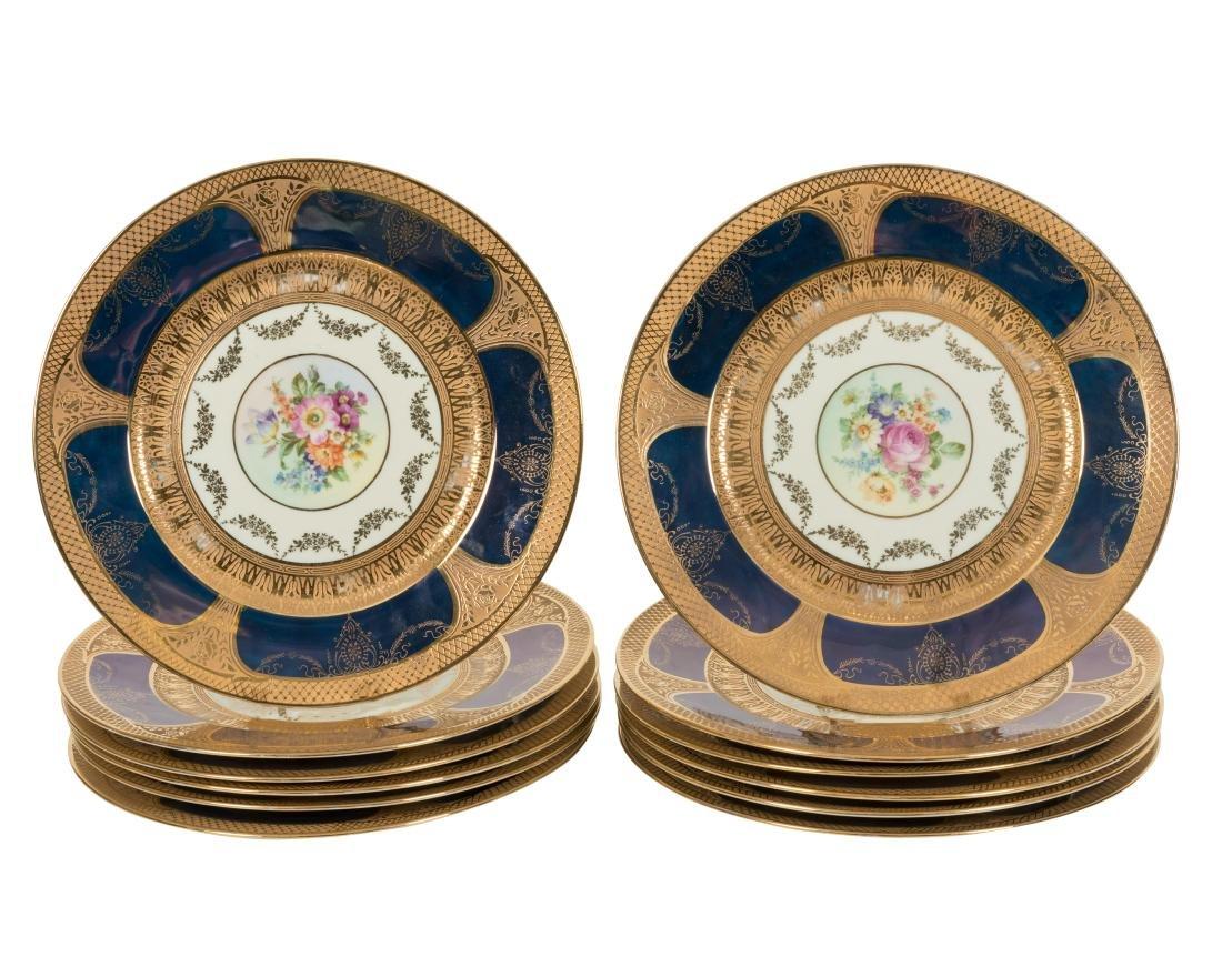12 Royal China Service Plates