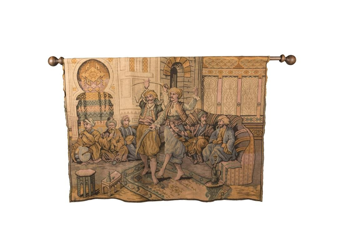 Large Scenic Tapestry
