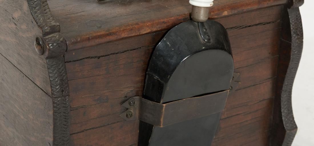 Carved Victorian Coal Scuttle - 4