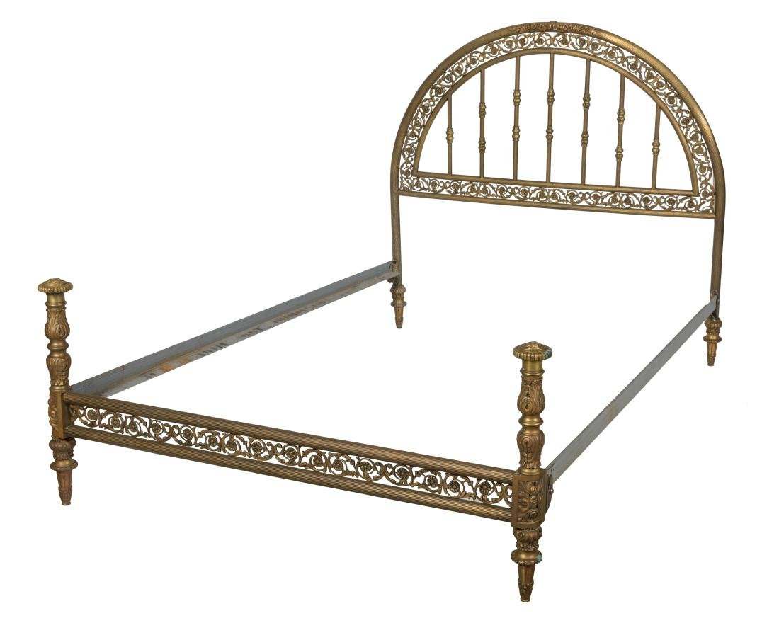 French Brass Bed