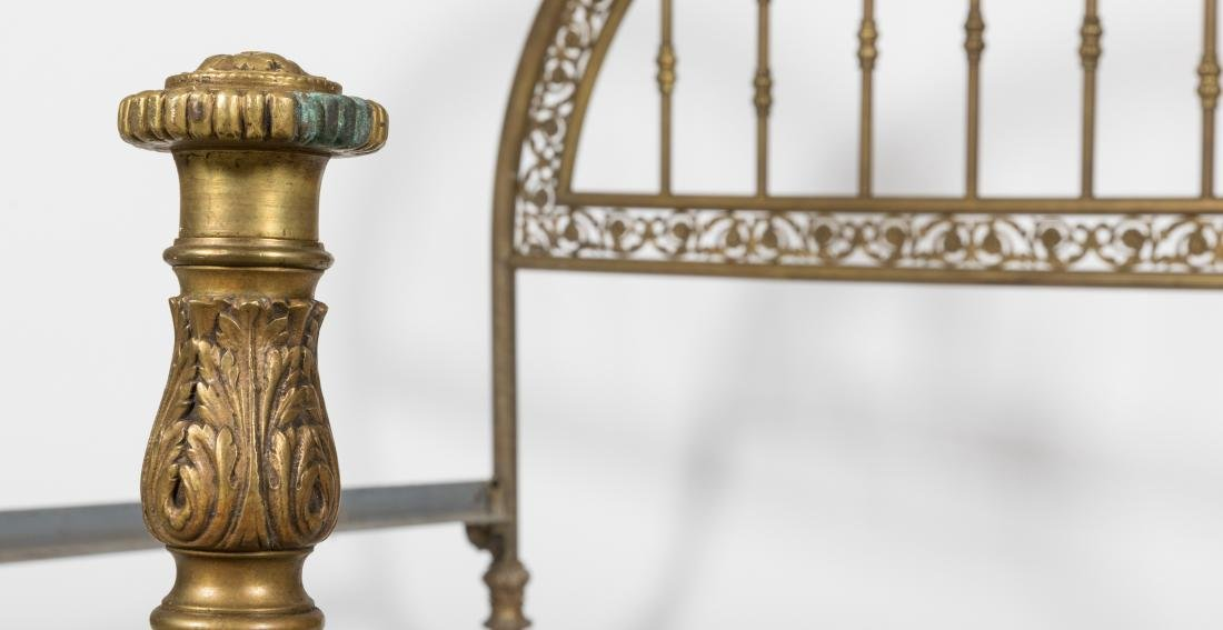 French Brass Bed - 2
