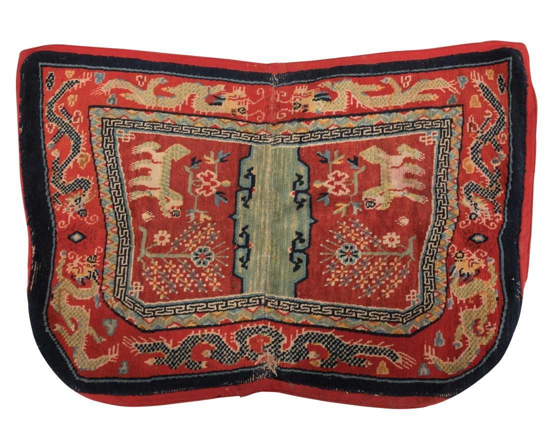 Scenic Tibetan Hooked Saddle Bag
