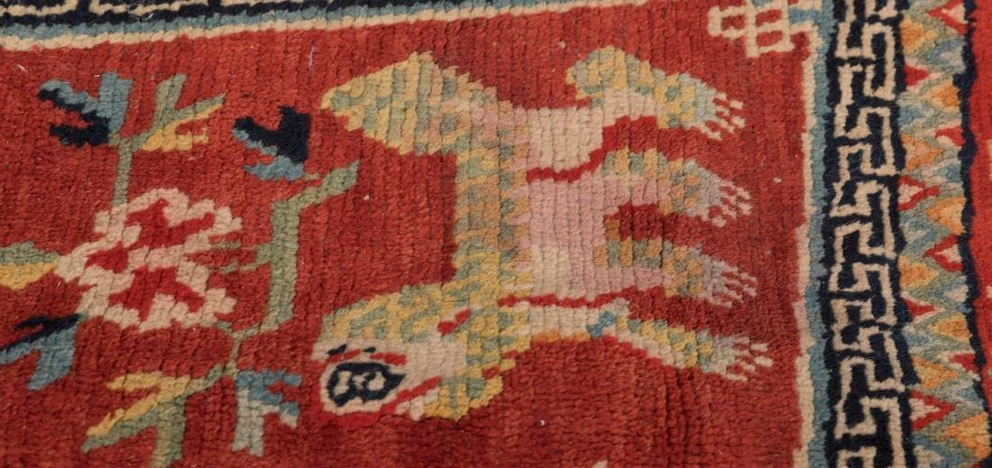 Scenic Tibetan Hooked Saddle Bag - 2