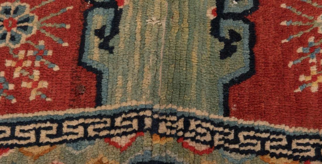 Scenic Tibetan Hooked Saddle Bag - 3