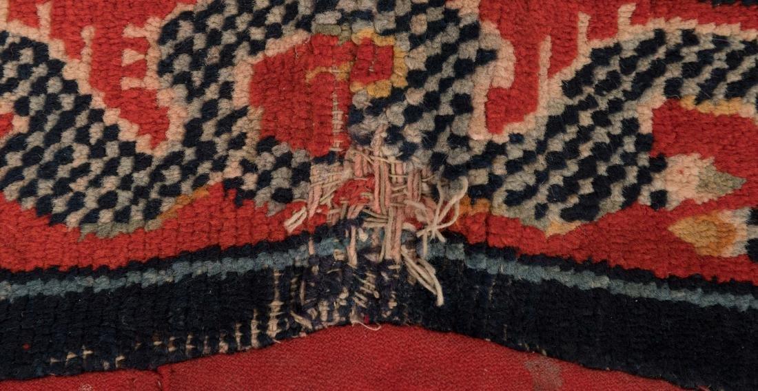Scenic Tibetan Hooked Saddle Bag - 4