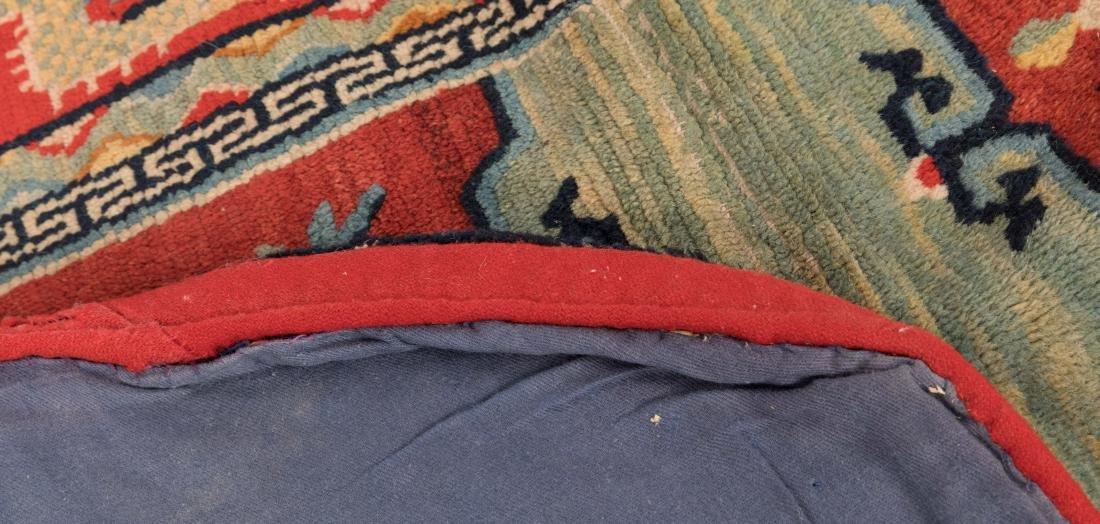 Scenic Tibetan Hooked Saddle Bag - 5
