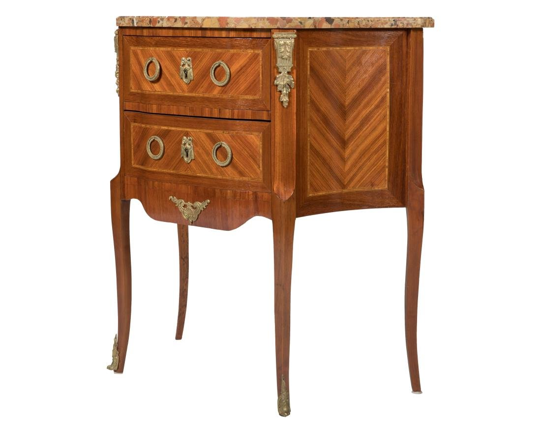French Marble Top Stand