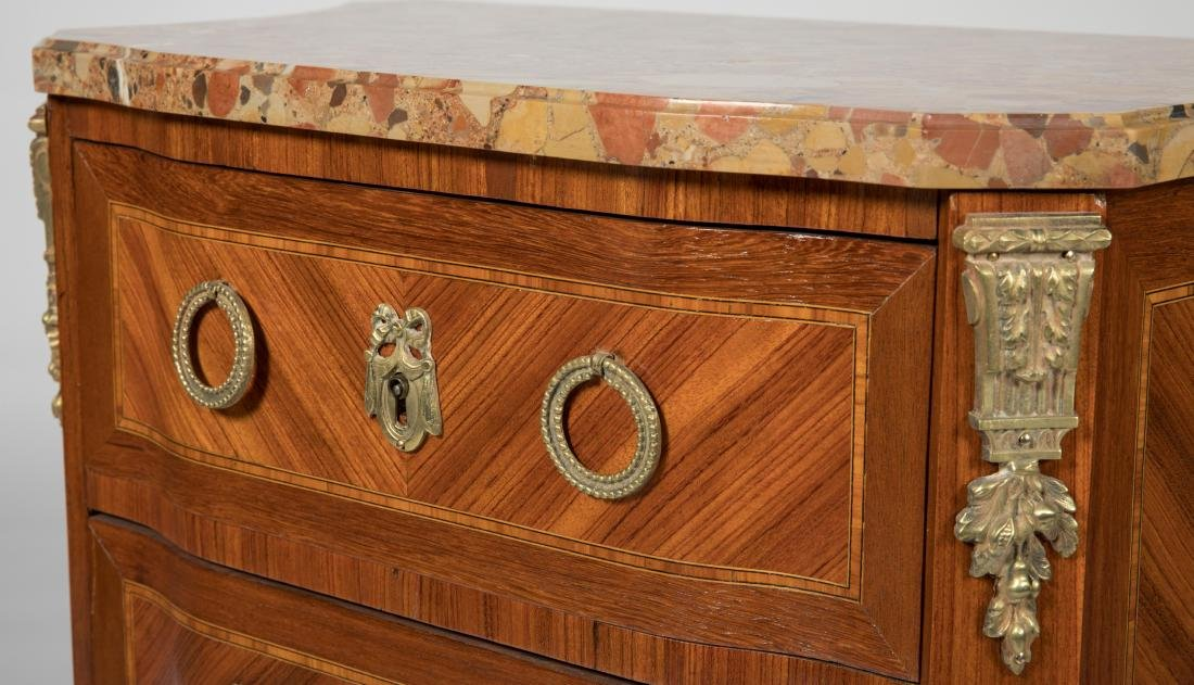 French Marble Top Stand - 2