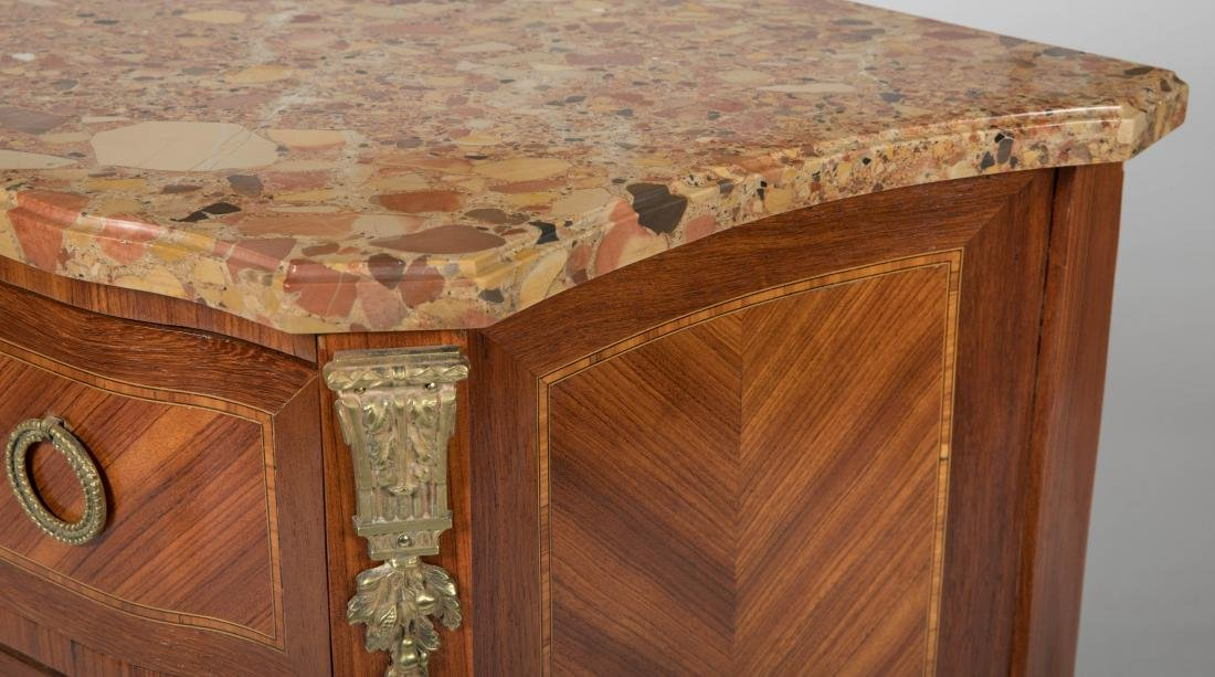 French Marble Top Stand - 3