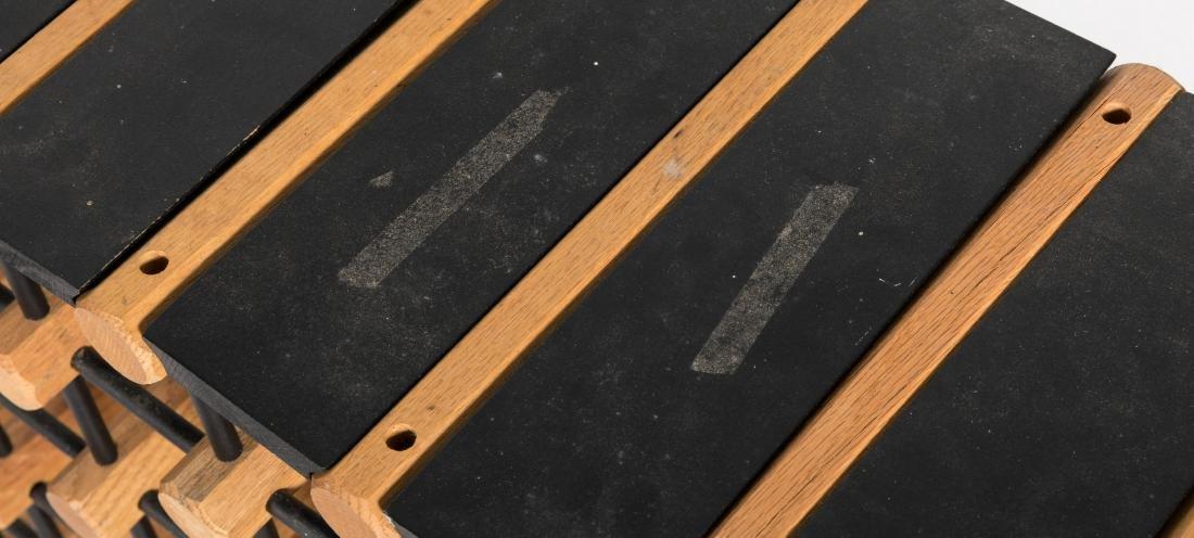 Pair Wooden Wine Racks - 4
