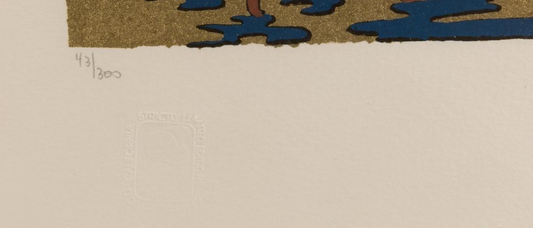 Two Shlomo Katz Lithographs - Signed - 5
