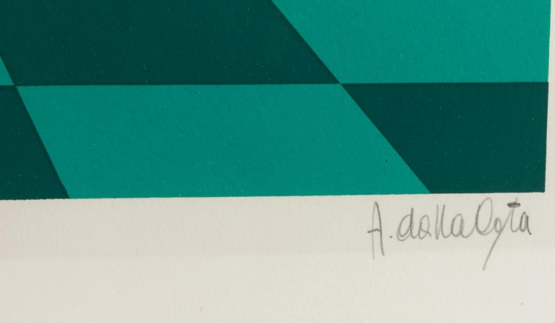 Two Amleto Dalla Costa Serigraphs - Signed - 9