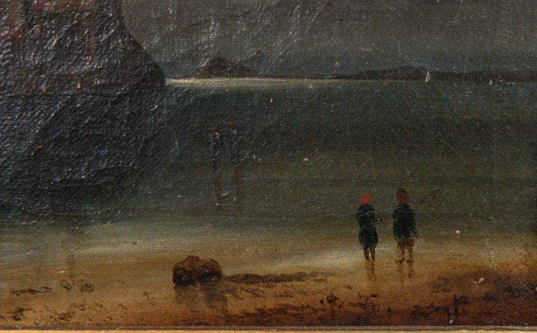 Oil on Canvas - Mont St. Michel - Signed T. Danby - 5