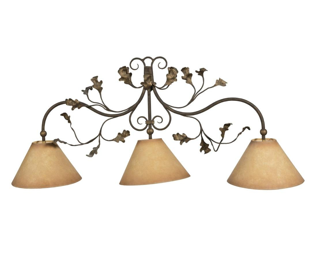 Figural Iron Floor Lamp and Iron Sconce - 2
