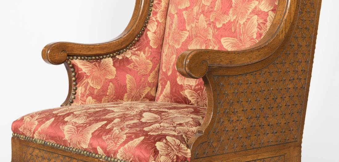 French Wing Chair - 2