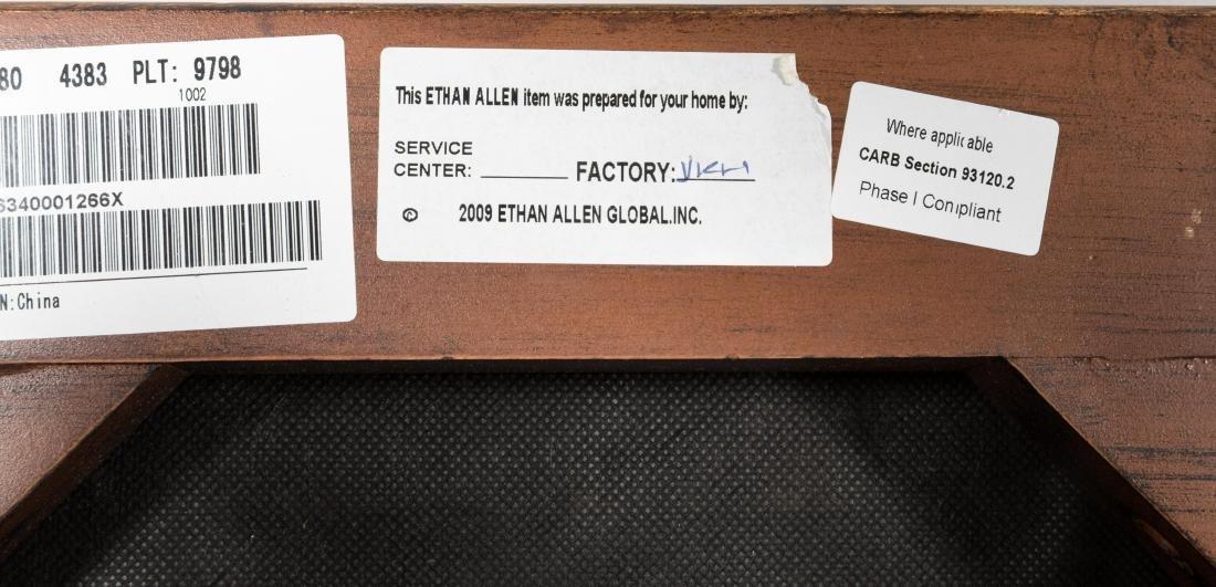 Pair Ethan Allen X Benches - 4
