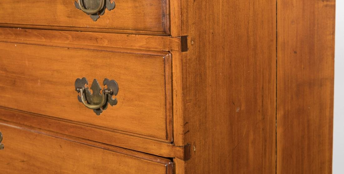 Antique Six Drawer Chippendale Chest - 2