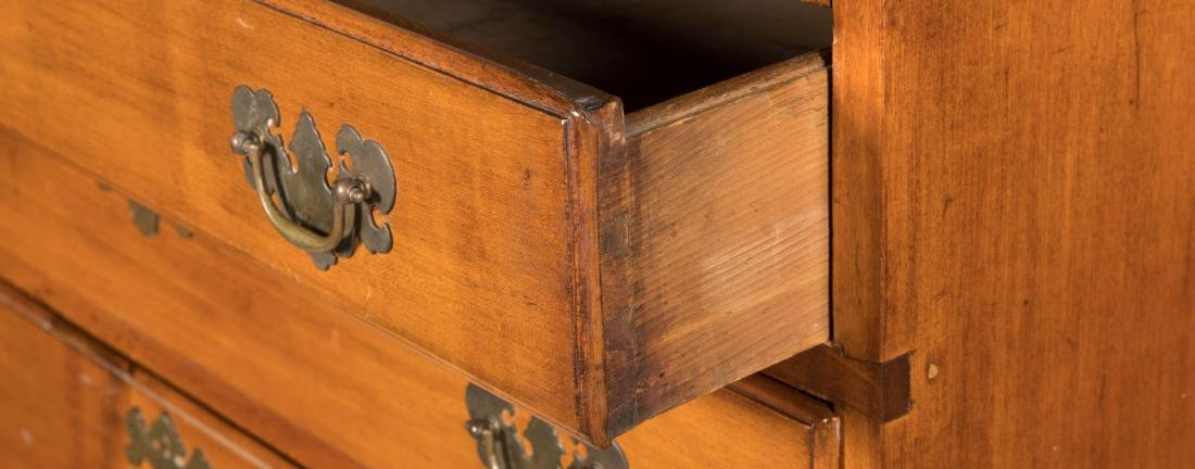 Antique Six Drawer Chippendale Chest - 4