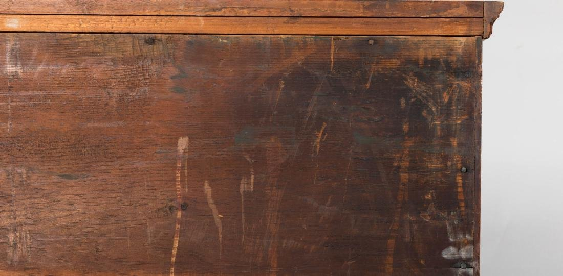Antique Six Drawer Chippendale Chest - 7