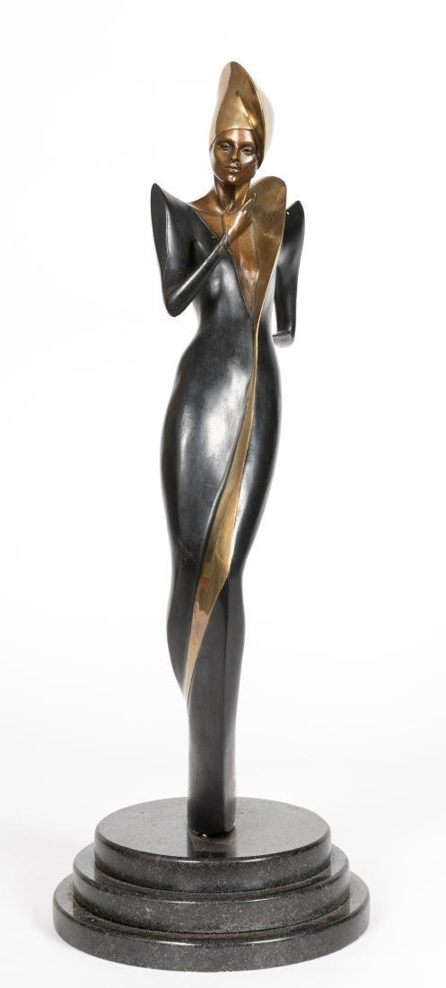 Dyansen Deco Bronze - Signed A Froman