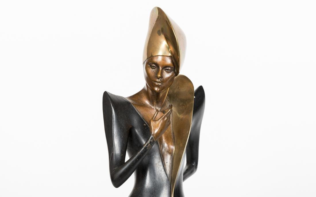 Dyansen Deco Bronze - Signed A Froman - 2