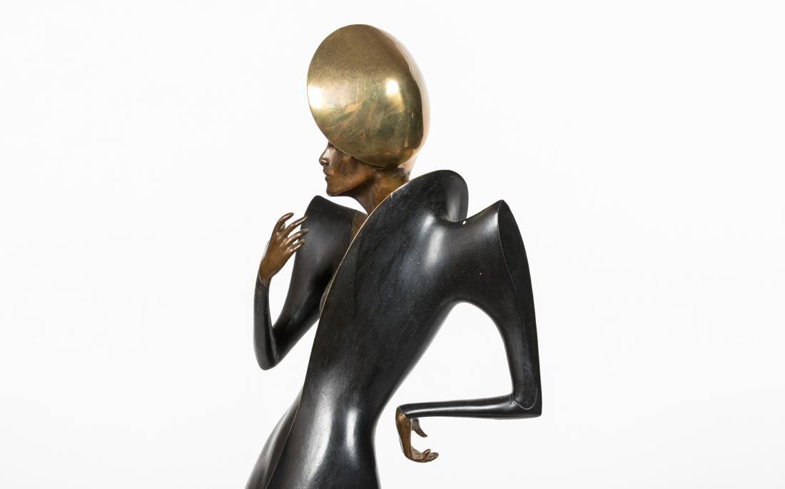 Dyansen Deco Bronze - Signed A Froman - 4