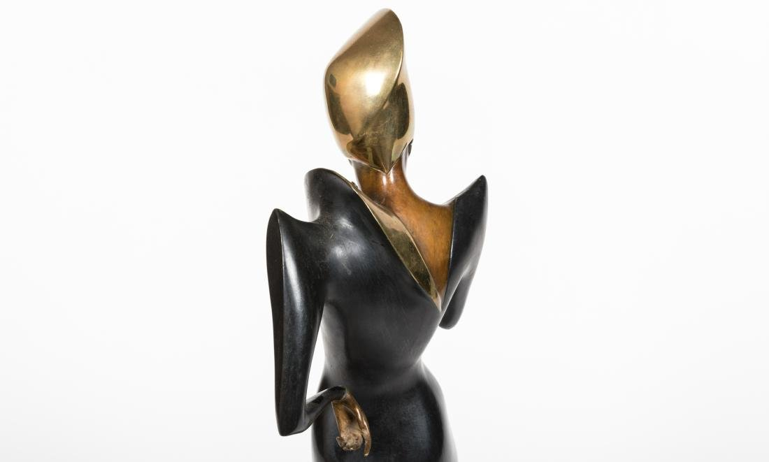 Dyansen Deco Bronze - Signed A Froman - 5