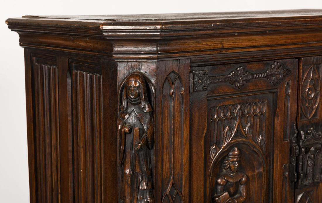 Jacobean Oak Court Cupboard - 2
