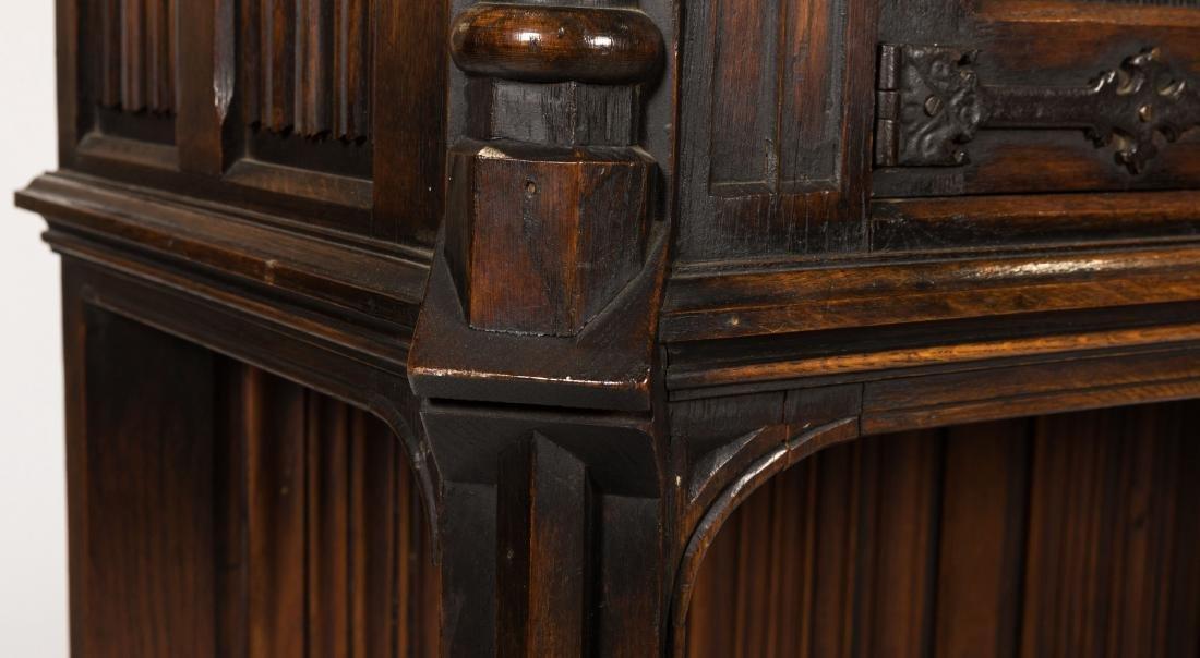 Jacobean Oak Court Cupboard - 4