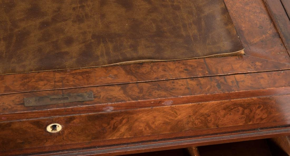 Inlaid Victorian Serving Table - 5