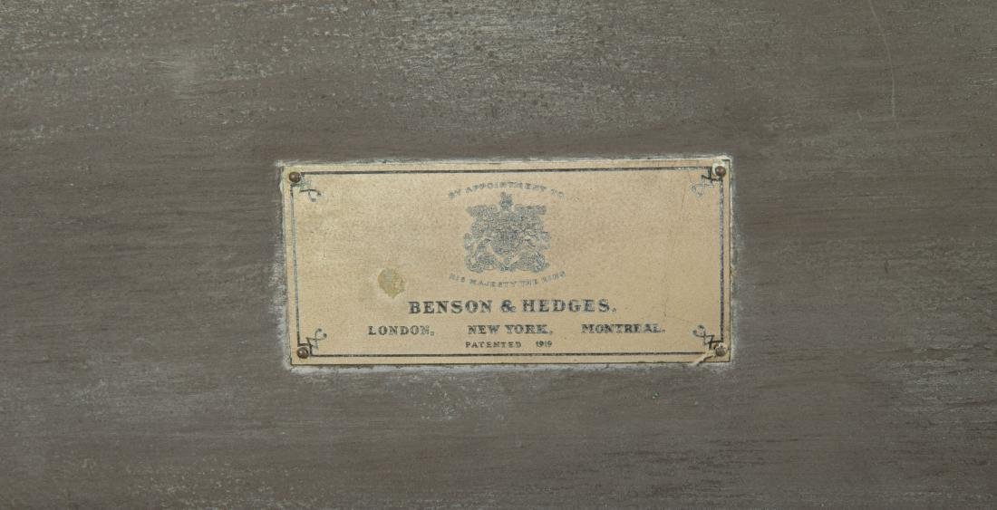 Benson and Hedges Campaign Style Humidor - 4