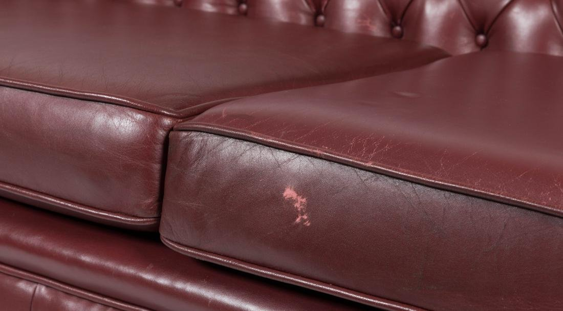 Chesterfield Leather Sofa - 2