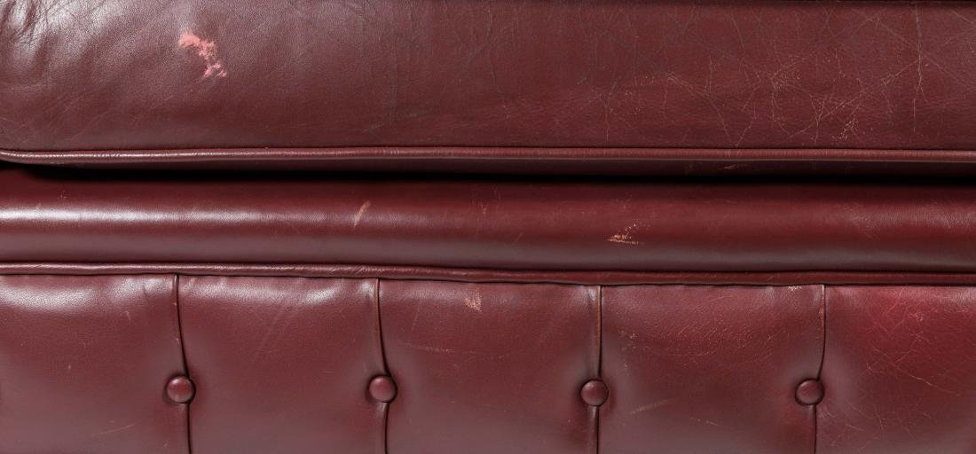 Chesterfield Leather Sofa - 4
