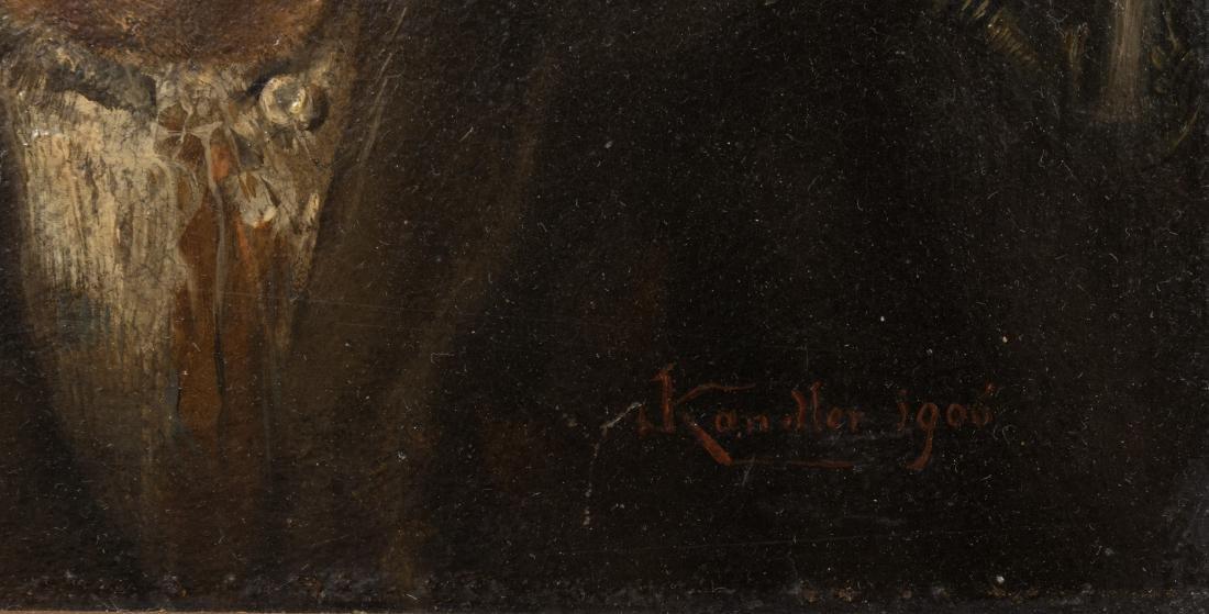 Ludwig Kandler - Oil on Board - Signed - 4