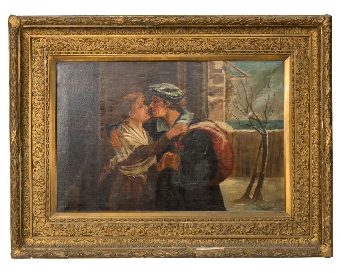 A. S. Solomon - Oil on Canvas