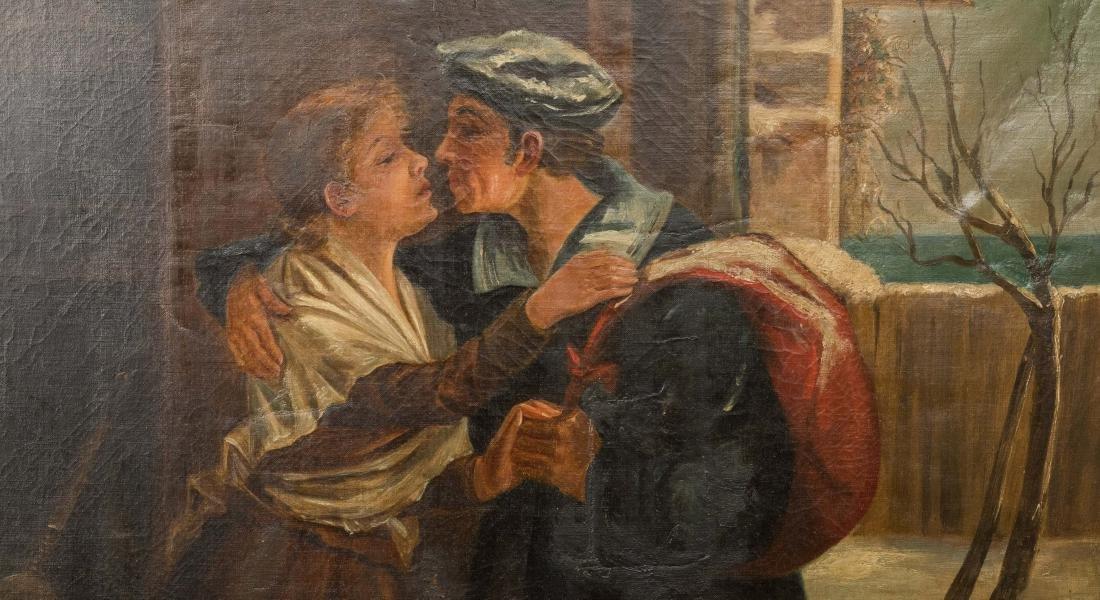 A. S. Solomon - Oil on Canvas - 2