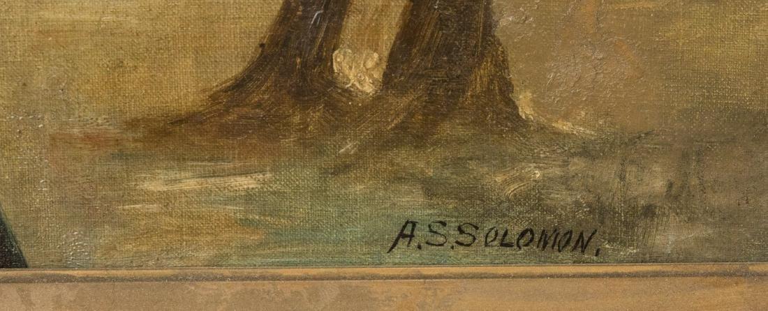 A. S. Solomon - Oil on Canvas - 3