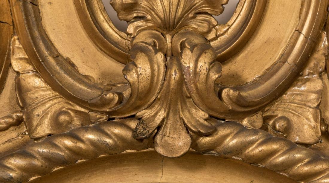Gold Leaf Ornate Victorian Mirror - 4